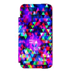 Creation Lights - iPhone 5/5S Wallet Case