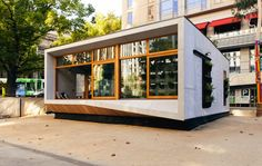 World's First Carbon-Positive Pre-Fabribated House
