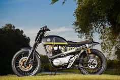 """Yamaha """"XS 744"""" Dirt Track by Dime City Cycles"""