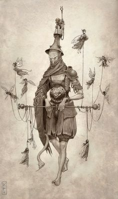 ☆ The Warden :¦: By Artist Keith Thompson ☆