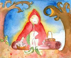 """""""Petite Elfe rencontre le roi Houx"""", une jolie histoire de lanternes et des ressources pour le 11 novembre, en pédagogie Steiner."""