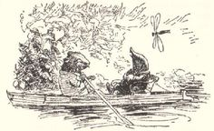 Wind in the Willows - ratty & mole