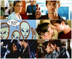Kem Smith uploaded this image to 'Roswell'. See the album on Photobucket. Best Tv Shows, Movies And Tv Shows, Roswell Tv Series, Brendan Fehr, Nick Wechsler, Jason Behr, Roswell New Mexico, Beautiful Love Stories, Movie Couples