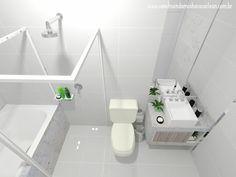 Projeto do Banheiro da Suíte!
