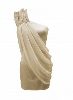 One Shoulder Dress with Chiffon Overlay Detail,  Dress, one shoulder dress  chiffon  evening, Chic