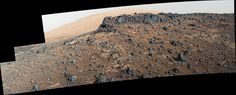 Veiny 'Garden City' Site and Surroundings on Mount Sharp Mars
