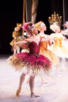 Jill Ogai as one of the fairies in the prologue of David McAllister's The Sleeping Beauty for the Australian Ballet.