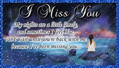 Free online My Nights Are Lonely ecards on Everyday Cards Morning Hugs, Morning Wish, Healing Wish, Miss You Cards, Saying Sorry, Wishes For You, Get Well Cards, Name Cards, Family Love