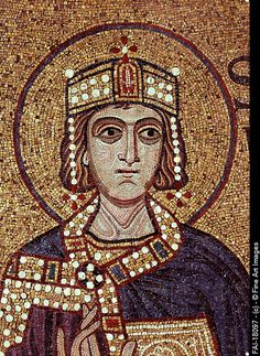 King Solomon (Detail of Interior Mosaics in the St. Mark's Basilica). Byzantine Master. Gothic. 12th century. Saint Mark's Basilica, Venice.