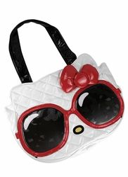 hello kitty sunglasses face tote