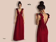 New dress, with custom mesh  Found in TSR Category 'Sims 4 Female Formal'