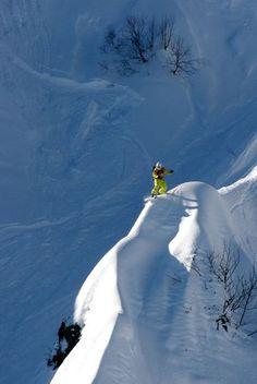 #snow #powder #snowboarding #skiing