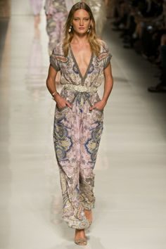 Etro Spring Summer 2014 Ready-To-Wear collection