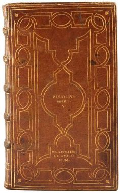 An Aldine from the library of the sixteenth-century French book collector Jean Grolier. Author: Virgil Title: Virgilius Published: Venice: Sons of Aldo Manuzio, 1541 Location: Rare Books: Junius Morgan Collection (VRG) Call number: 2945.1541 Spine height: 17 cm
