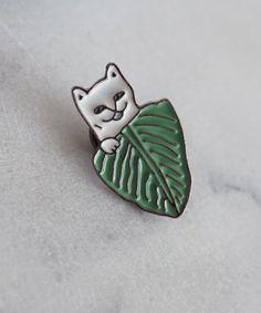 Badges Earnest 1 Pcs Cartoon Cute Animal Cat Rabbit Metal Brooch Button Pins Denim Jacket Pin Jewelry Decoration Badge For Clothes Lapel Pins