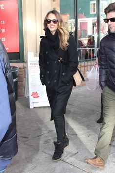 Celeb Diary: Jessica Alba @ 2013 Sundance Film Festival
