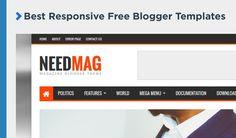 65+ Best Responsive Free #Blogger Templates 2017