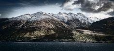 Mountains at Lake Wanaka