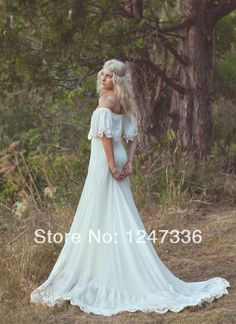 http://i00.i.aliimg.com/wsphoto/v0/1843868124_4/Bohemian-Wedding-Dress-1970s-Hippie-Bohemian-Gown-Cream-Ivory-Off-The-Shoulder-Lace-Ruffle-Trim-Haden.jpg