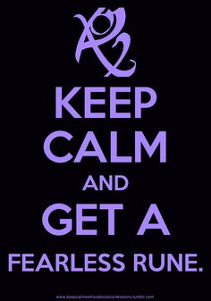 The Infernal Devices; The Mortal Instruments: Keep Calm