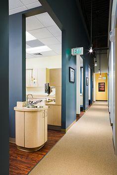 Bradburn Village Dentistry - Dental Office Design by JoeArchitect in Westminster, Colorado
