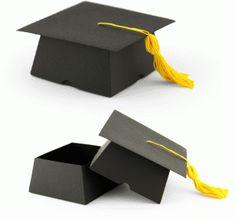 Silhouette Design Store - View Design #75119: 3d graduation cap box