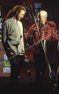 Mick Hucknall, Richard O'Brien, BRITS 1993