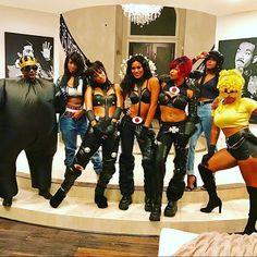 #Dopesauce! #halloween #TLC #Lilkim #Aaliyah #JanetJackson & Me