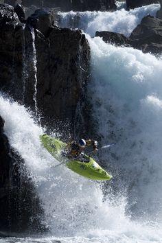 extreme kayaking