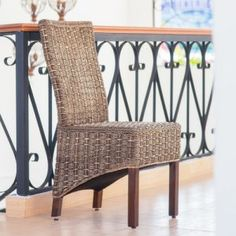 Wicker Dining Chairs on Hayneedle - Rattan Dining Chairs