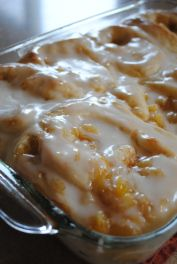 Pineapple Sweet Rolls The *Ultimate* Comfort Food!making it my way reinvented a different way.Awesome so yummy.Happycookdiva Check out the website to see Brunch Recipes, Sweet Recipes, Dessert Recipes, Cake Recipes, Just Desserts, Delicious Desserts, Yummy Food, Fun Food, Breakfast Dishes