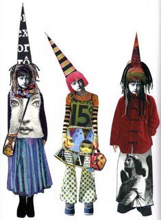 """Teesha Moore Paper """"dolls"""" for all my students! Awesome resource for the students' altered book project! Kunstjournal Inspiration, Art Journal Inspiration, Mixed Media Collage, Collage Art, Art Journal Pages, Art Journals, Paper Dolls, Art Dolls, Art Altéré"""