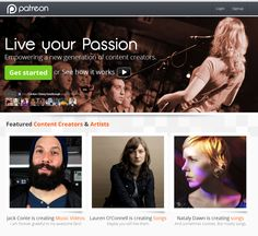 Patreon: Live your Passion