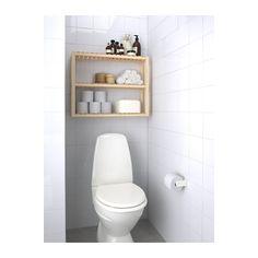 MOLGER Wall shelf - birch - IKEA