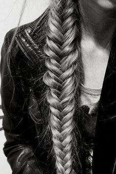 Immature love says: 'I love you because I need you.' Mature love says 'I need you because I love you.' Erich Fromm  Hair, girl, braid
