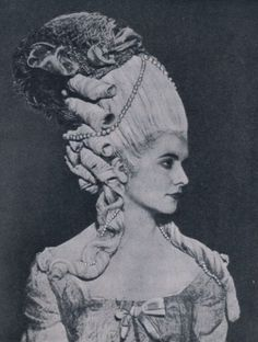 "MISSHONORIAGLOSSOP:  ""Historical Hairdos"" at the Hairdressing and Allied Trades Exhibition, Royal Horticultural Hall, London"