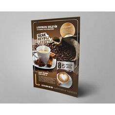 Kahve Çeşitleri Broşür