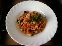JHS  /  Spaghetti sauce aux légumes et les miettes de pain grillé Gino D'Aquino