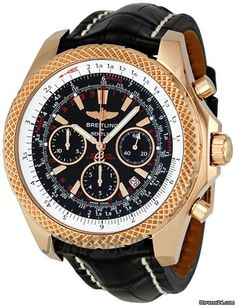 Breitling Bentley Motors Speed 18kt Rose Gold Mens Watch R2536712-B953BKCT Write a Review $18,778