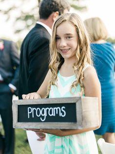 #programs  Photography: Krista A. Jones - kristaajones.com  Read More: http://www.stylemepretty.com/2014/12/08/eastern-shore-estate-wedding/