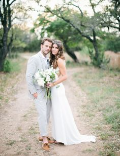 Bohemian-Antique Ranch Wedding: Brittany + Federico. I know my daughter would love this one...it's in a barn but not typical.