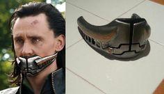 Avengers Loki muzzle by BiteMeBarracuda on Etsy, $80.00