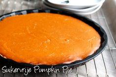 Suikervrije Pumpkin Pie - Blij Zonder Suiker