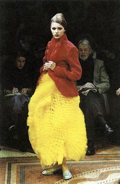 Fall–Winter 2000–2001 - Junya Watanabe by Jean François José