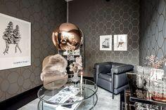 Cet appartement présente un design original et un plan malin - PLANETE DECO a homes world Layout, Make Ready, Decoration Design, Plans, Quality Time, Own Home, Interior Design, The Originals, Showroom