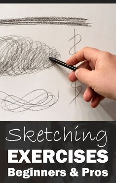 When I started drawing, I benefited greatly from certain exercises that not only improved my dexterity, but most importantly increased my powers of observation. Below are some of the exercises I ha… Sketching For Kids, Learn Sketching, Learn To Sketch, Sketching Tips, Learn To Draw, Beginner Drawing Lessons, Pencil Drawings For Beginners, Drawing Tutorials For Beginners, Pencil Drawing Tutorials