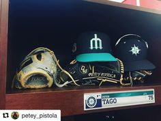 #Repost @petey_pistola with @repostapp  @glovefactory Here is a pic of my shag master and gamer for 2017!!! Collaboration of creative minds make it possible for me to feel and look comfortable wearing quality leather!! Thank you guys @glovefactory for doing such an awesome job and for al your support!! If you haven't already check them out at glovesworks.net #donald #st2017 #gloveworks #glovefactory #seattle #mariners #mlb #gomariners #baseball #petertago #teamGloveworks