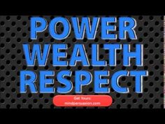 Power - Money - Respect - Build Riches, Domination and Relentless Wealth