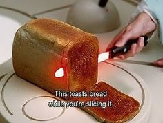 Cool Inventions Gadgets toast some bread Inventions Sympas, Ideas Para Inventos, All You Need Is, Just In Case, Guide To The Galaxy, Gadgets And Gizmos, Newest Gadgets, Tech Gadgets, Fun Gadgets