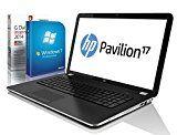 HP Pavilion 17-f212ng (17,3 Zoll) Notebook (Intel Celeron N2840 2x2.58 Ghz, 8GB RAM, 750GB S-ATA HDD, Intel HD Graphic, HDMI, Webcam, Beatsaudio®, USB 3.0, Bluetooth 4.0, Cardreader, WLAN, Windows 7 Professional 64 Bit) [geprüfte erneut verpackte Originalware] #5088